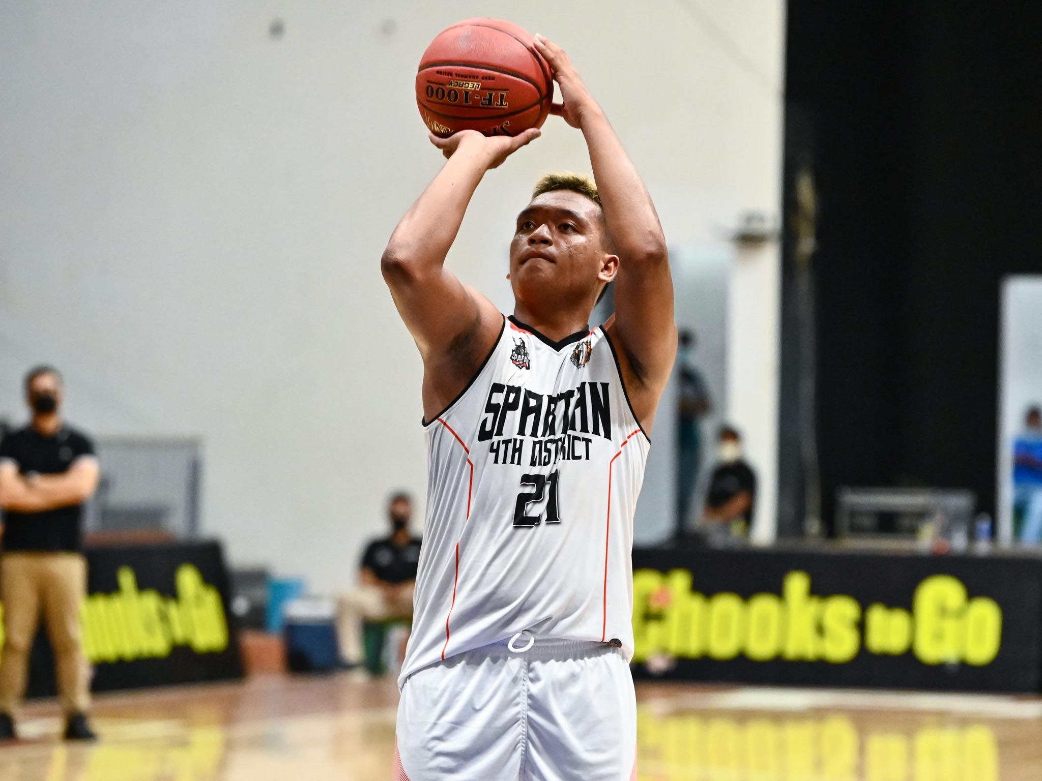 2021-Chooks-NBL-Stan-D4-vs-Taguig-Khenth-Guiab Sampurna powers Taguig to successful NBL debut as Stan D4 drops to 0-4 Basketball NBL News  - philippine sports news