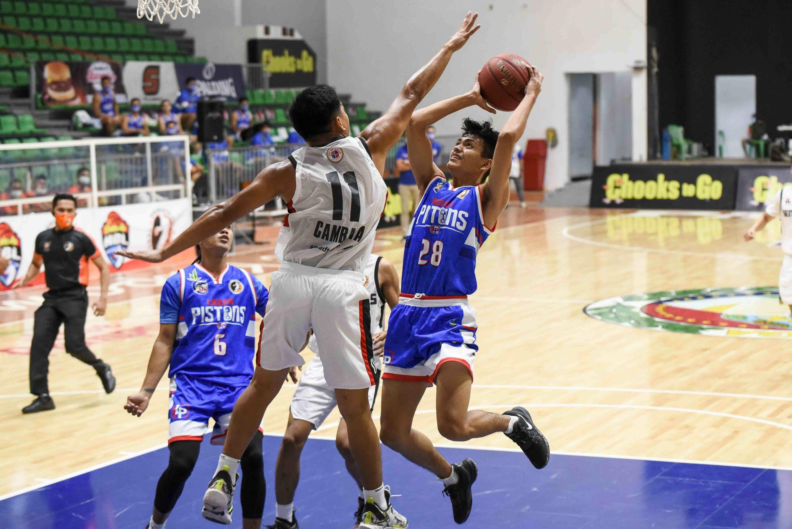 2021-Chooks-NBL-Taguig-vs-Laguna-Sean-Sandoval-scaled Francisco Tancioco catches fire as Taguig survives Laguna to go to 2-0 in NBL Basketball NBL News  - philippine sports news