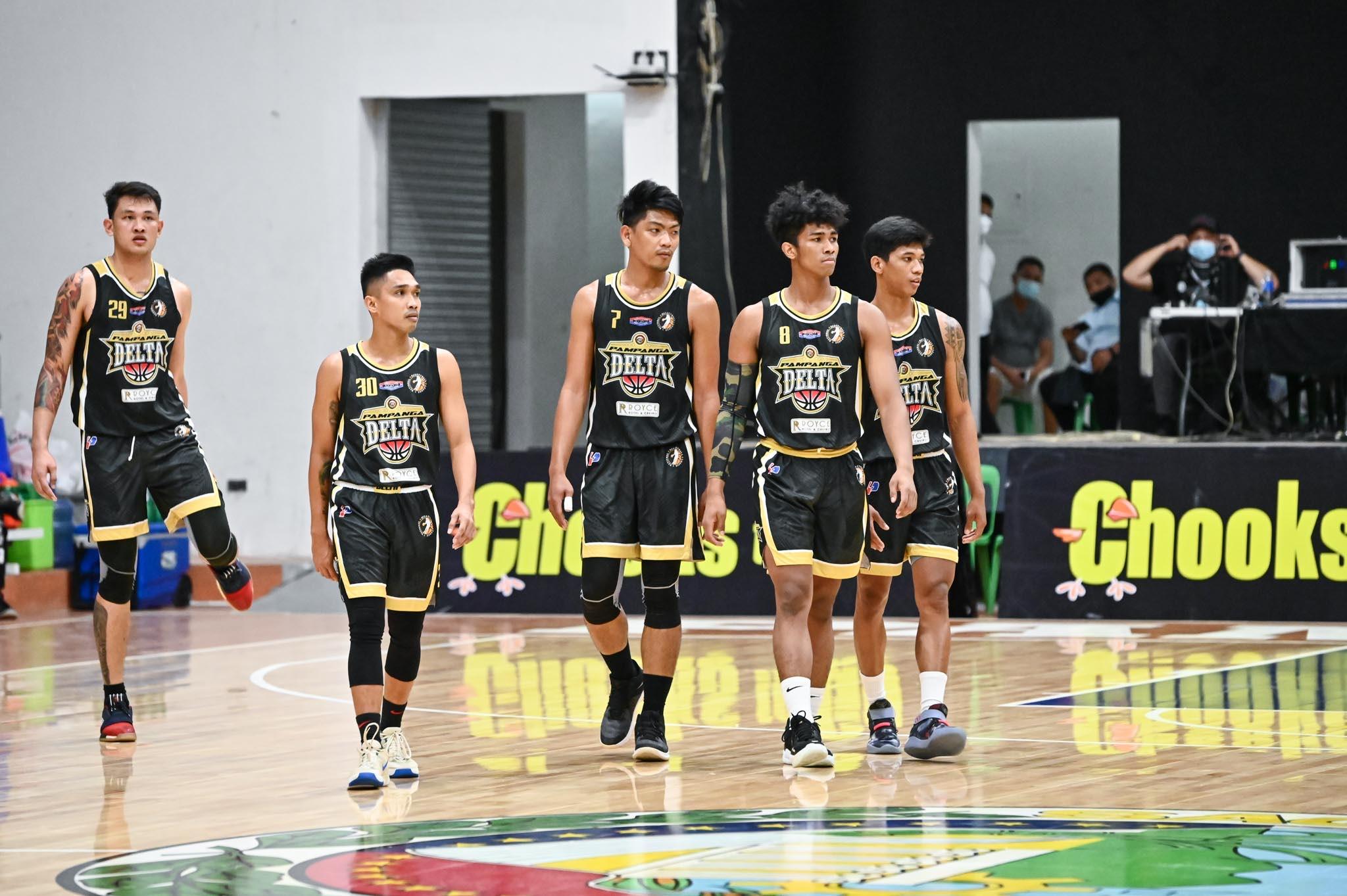 2021-Chooks-to-Go-NBL-Laguna-vs-Pampanga-DELTA Levi Hernandez, Pampanga torch Laguna for second straight win in NBL Basketball NBL News  - philippine sports news