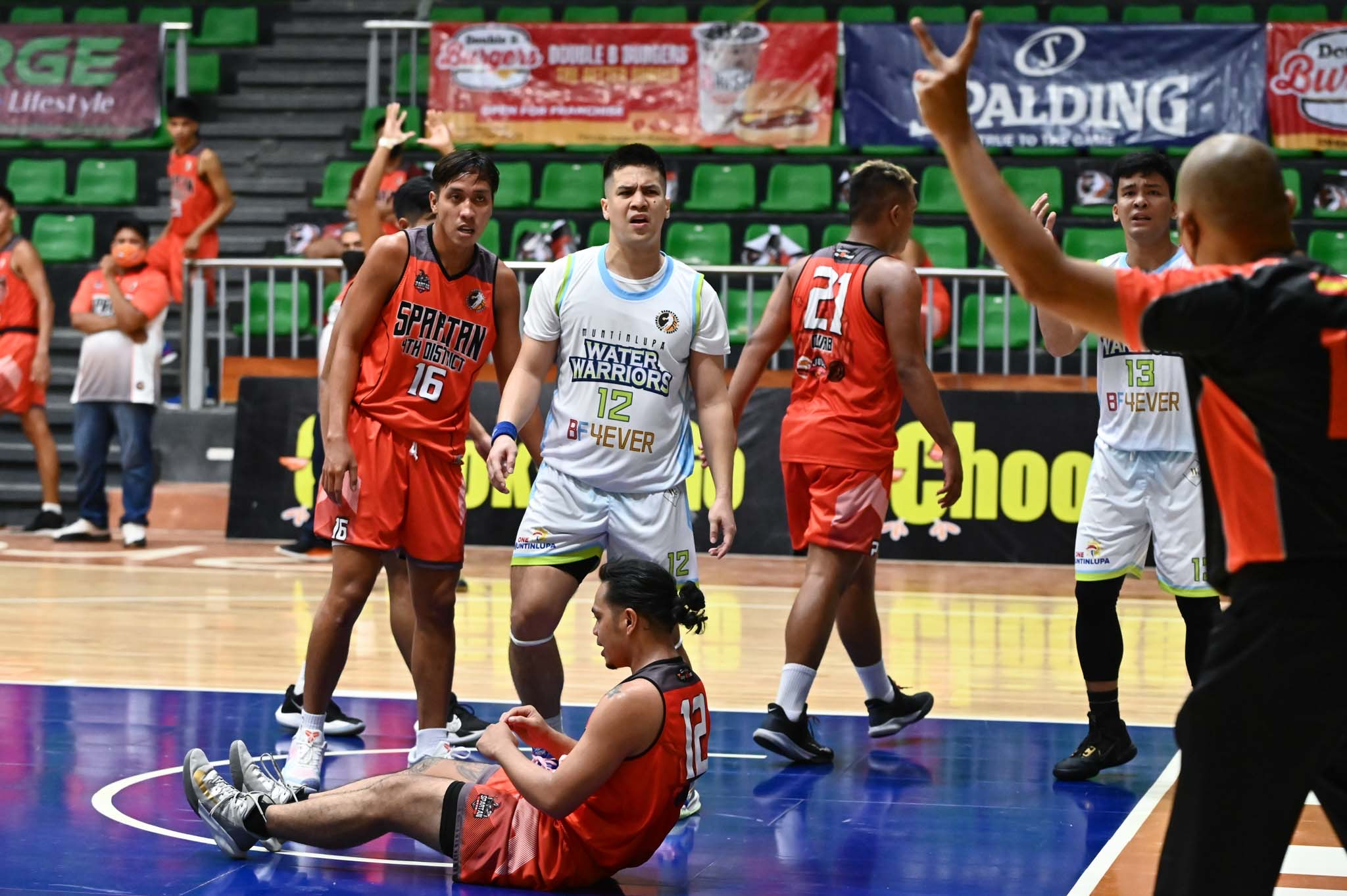 2021-Chooks-to-Go-NBL-Muntinlupa-vs-Quezon-D4-Andretti-Stevens Enguio, Mendoza stamp class, lead Muntinlupa to rousing NBL debut Basketball NBL News  - philippine sports news