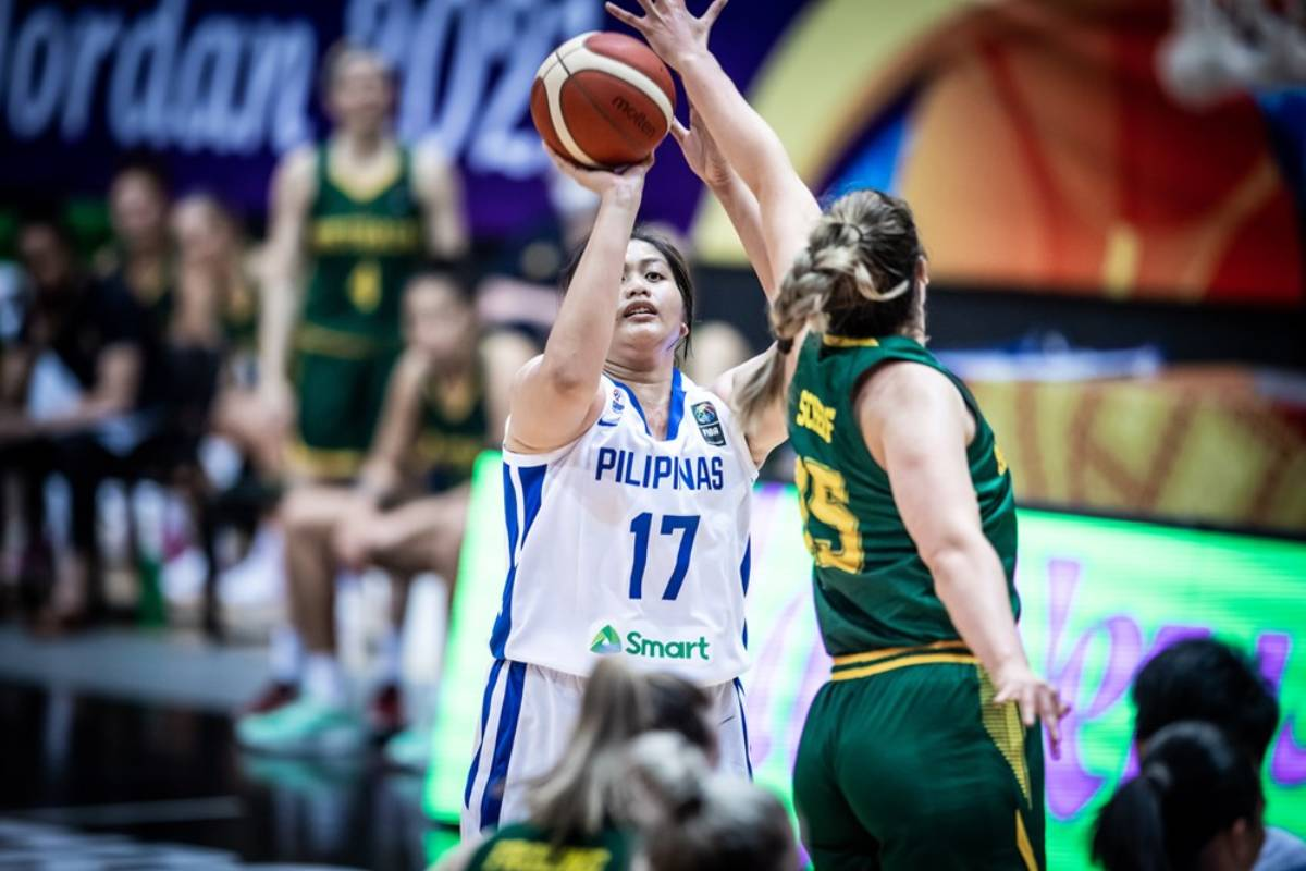 2021-FIBA-Womens-Asia-Cup-Australia-def-Gilas-Clare-Castro Gilas Women hope to have naturalized player by 2022 Basketball Gilas Pilipinas News  - philippine sports news