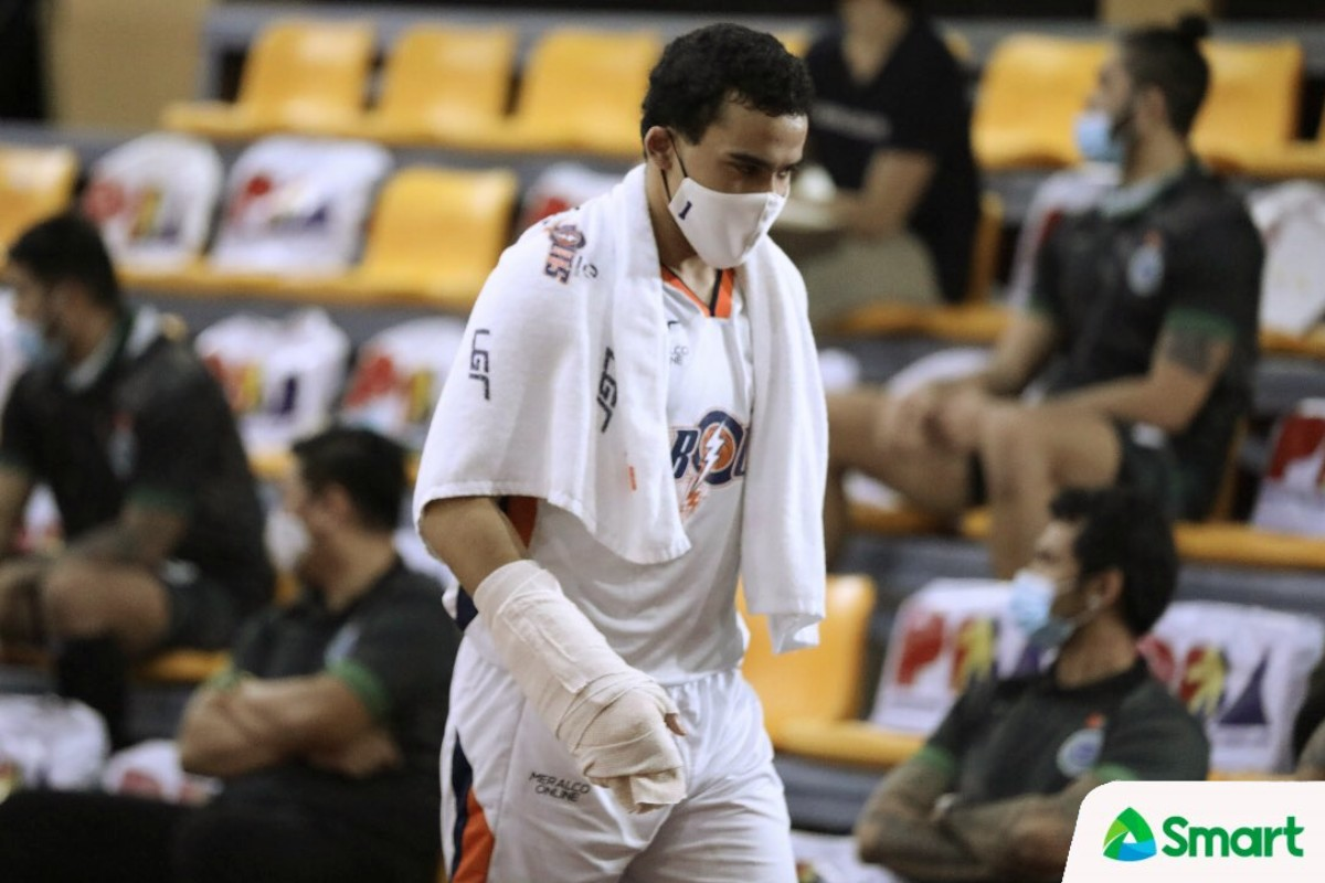2021-PBA-Philippine-Cup-Meralco-vs-Terrafirma-Aaron-Black Caram continues to show he is ready to step up for Meralco Basketball News PBA  - philippine sports news