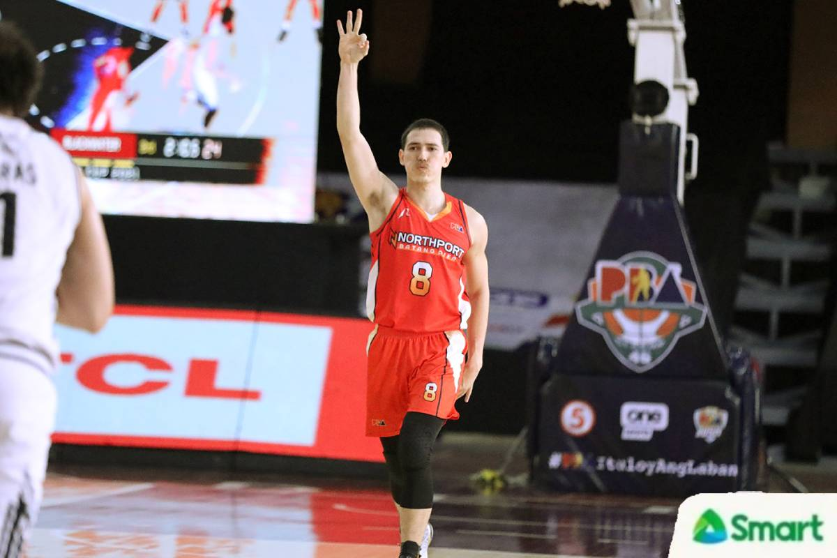 2021-pba-philippine-cup-blackwater-vs-northport-robert-bolick-1 Bonnie Tan grateful to NorthPort for memorable three-game run in Bacolor Basketball News PBA  - philippine sports news