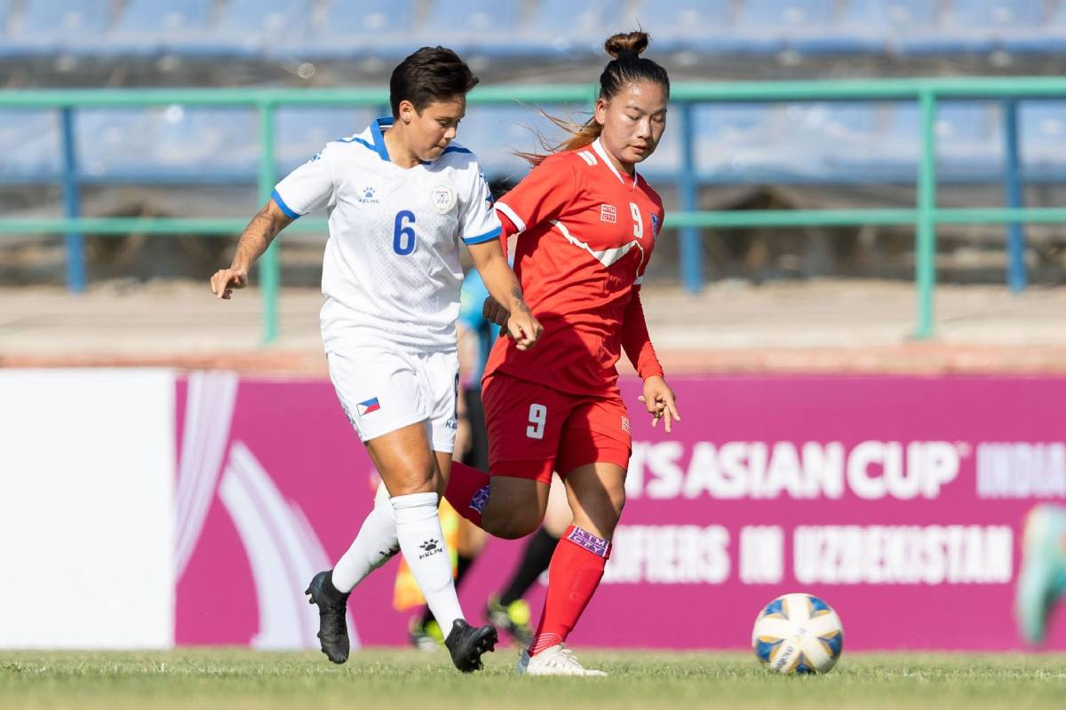 2022-AFC-Womens-Asian-Cup-qualifiers-Philippines-def-Nepal-Annis Protecting World Cup dream motivates PWFNT, says Palacios Football News Philippine Malditas  - philippine sports news
