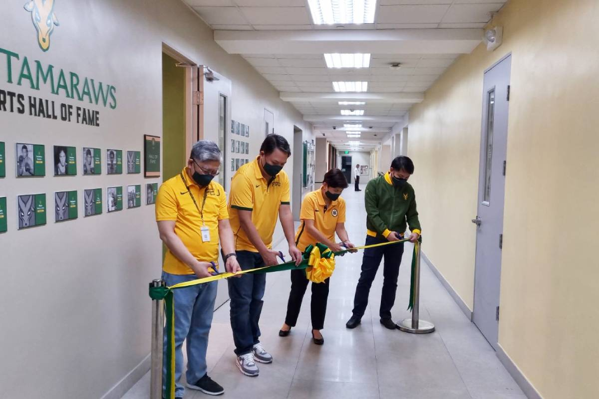 FEU-Sports-Hall-of-Fame-Room-ribbon-cutting FEU opens doors of physical Sports Hall of Fame room FEU News UAAP  - philippine sports news