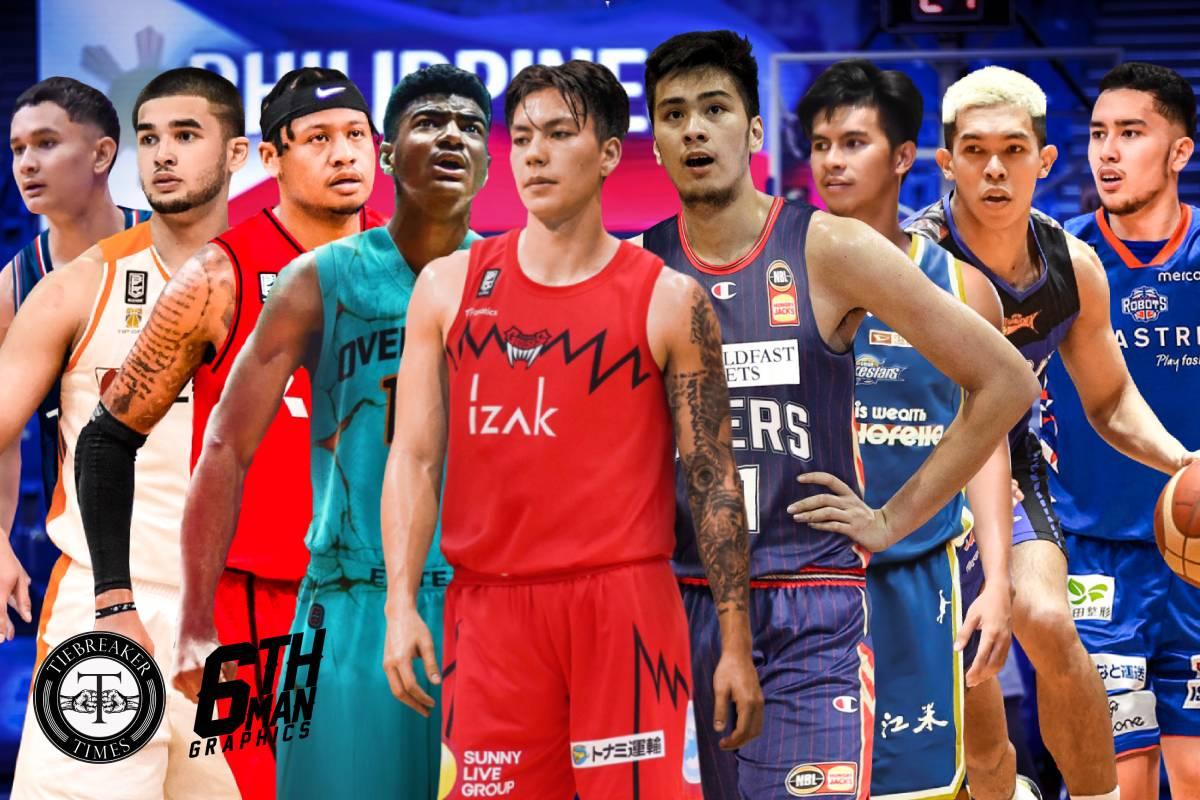 Gilas-International-Juan-GDL-x-Kobe-Paras-x-Ray-Parks-Lebron-Lopez-x-Dwight-Ramos-x-Kai-Sotto-x-Kiefer-Ravena-x-Thirdy-Ravena-x-Javi-GDL Ildefonso happy for Ramos as 'Double D' becomes a 'what if' for Ateneo ADMU Basketball News UAAP  - philippine sports news