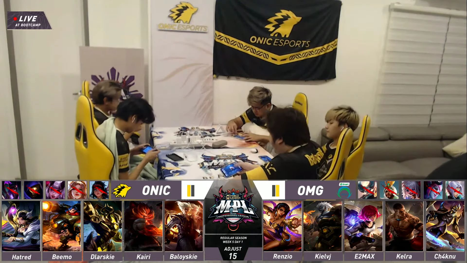 MPL-PH-8-ONIC-def-Omega-redraft SMART Omega rues Moonton's decision to do redraft during ONIC clash ESports Mobile Legends MPL-PH News  - philippine sports news