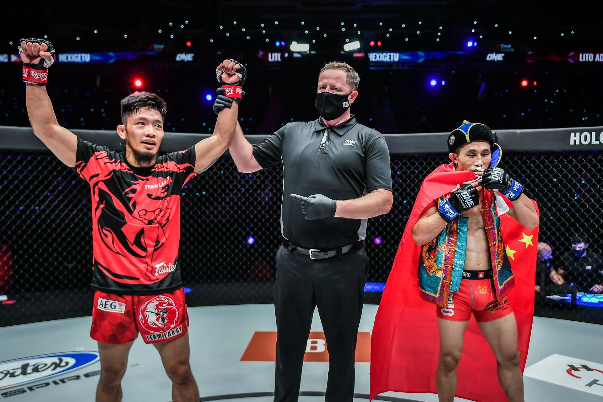 ONE-Revolution-Adiwang-def-Hexigetu Adiwang willing to be 'lil bro' Pacio's gatekeeper for now Mixed Martial Arts News ONE Championship  - philippine sports news