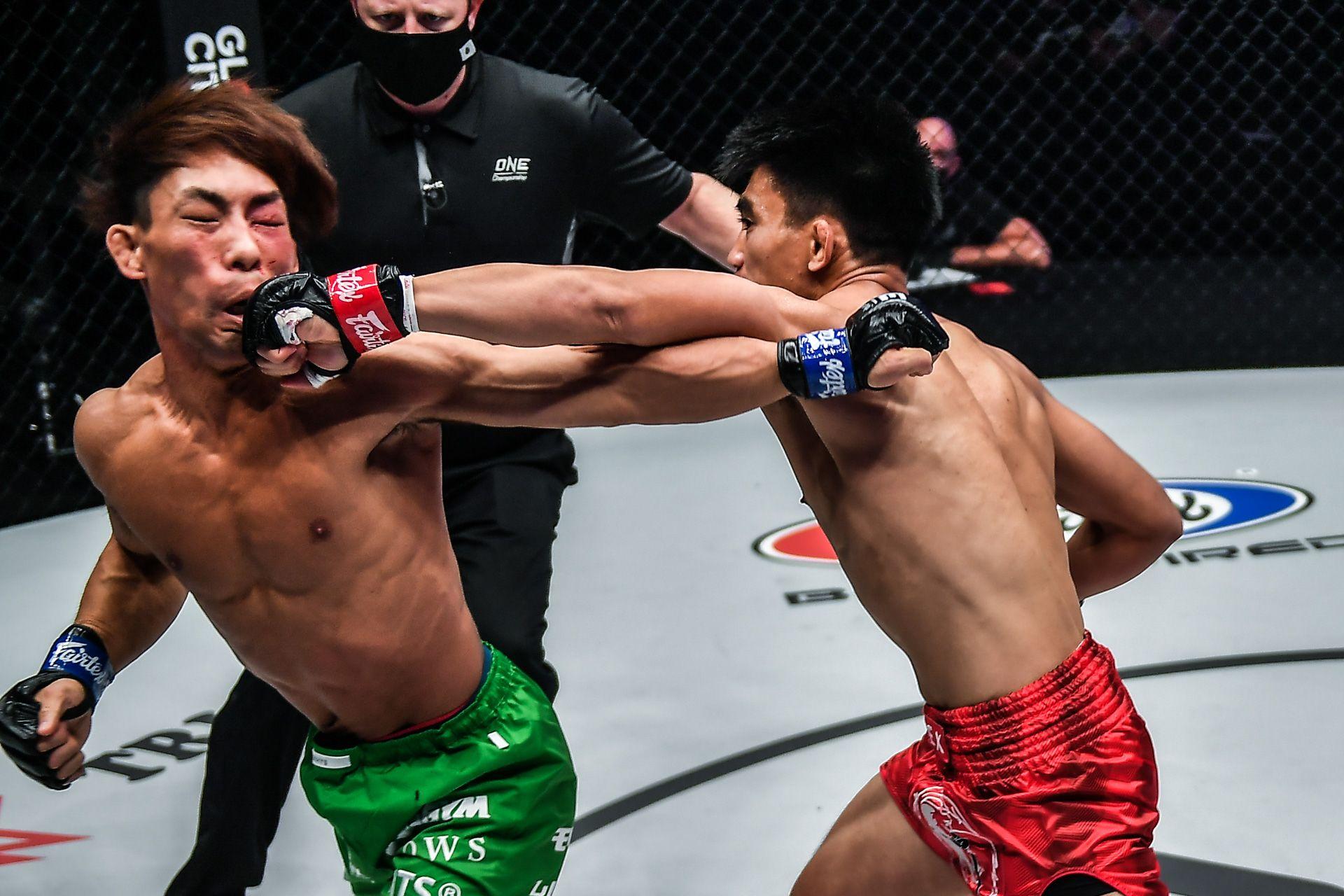 ONE-Revolution-Joshua-Pacio-straight-to-Yosuke-Saruta ONE: Revolution: Pacio puts emphatic end to Saruta rivalry Mixed Martial Arts News ONE Championship  - philippine sports news
