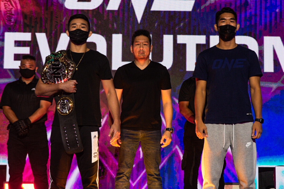 ONE-Revolution-press-conference-Christian-Lee-vs-Ok Christian Lee still has eyes on Charles Oliveira heading to ONE: Revolution Mixed Martial Arts News ONE Championship  - philippine sports news