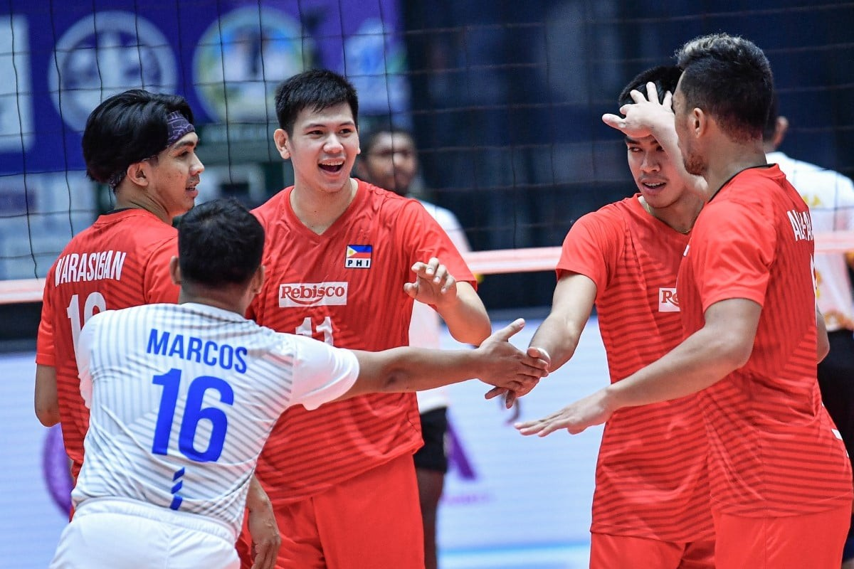 2021-Asian-Club-Rebisco-def-CEB-Joshua-Umandal-celeb Rebisco outlasts CEB, ends AVC Clubs at ninth place News Volleyball  - philippine sports news